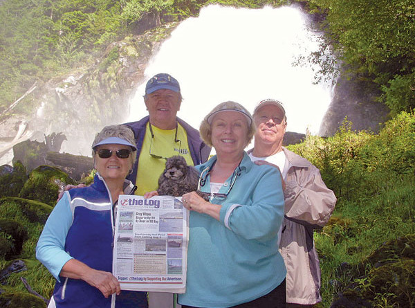 Chatterbox Falls, British Columbia