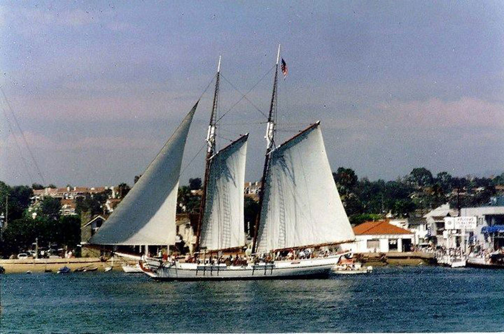 Pilgrim of Newport comes to Newport, Sept. 12