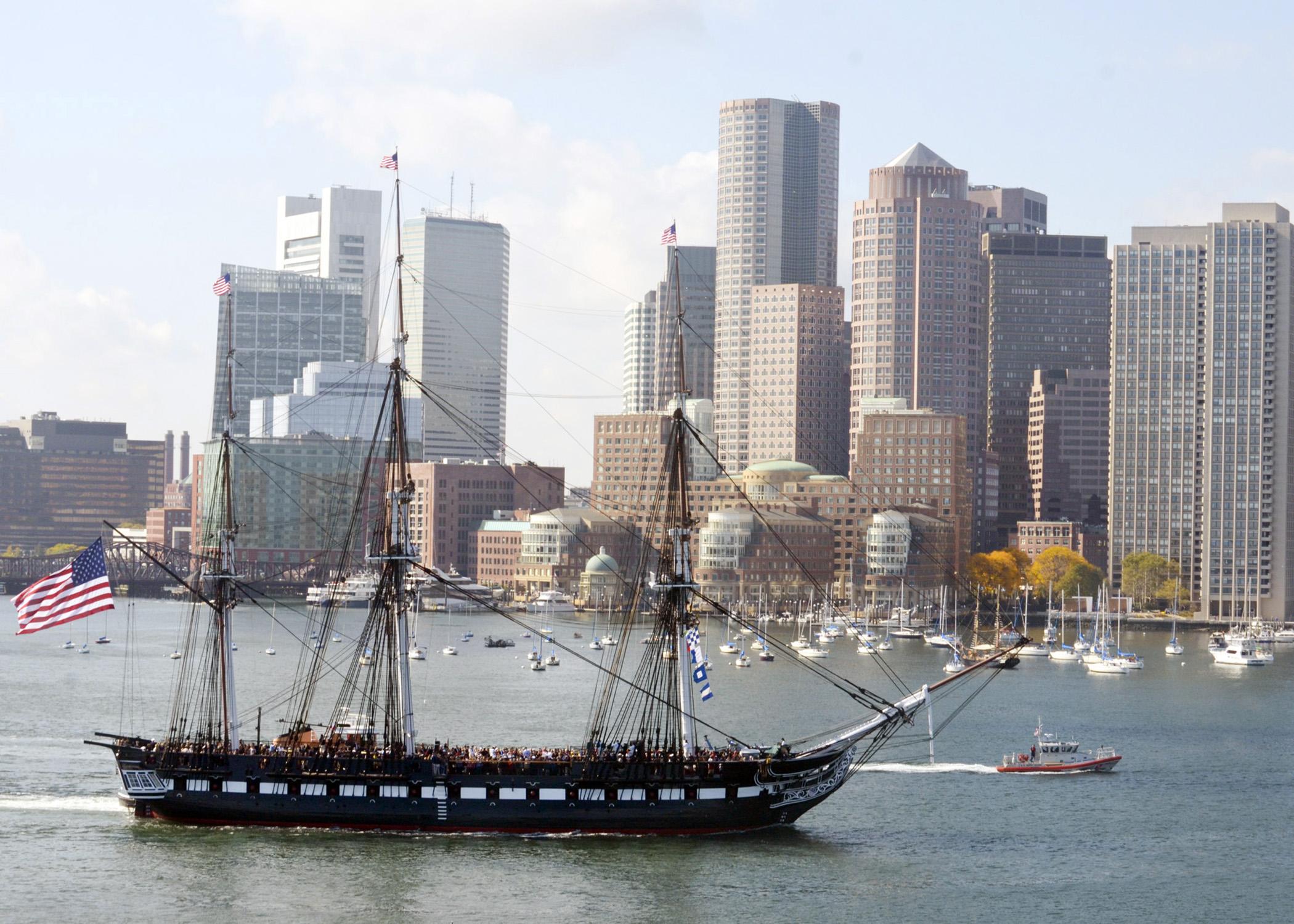 USS Constitution celebrates 217th birthday