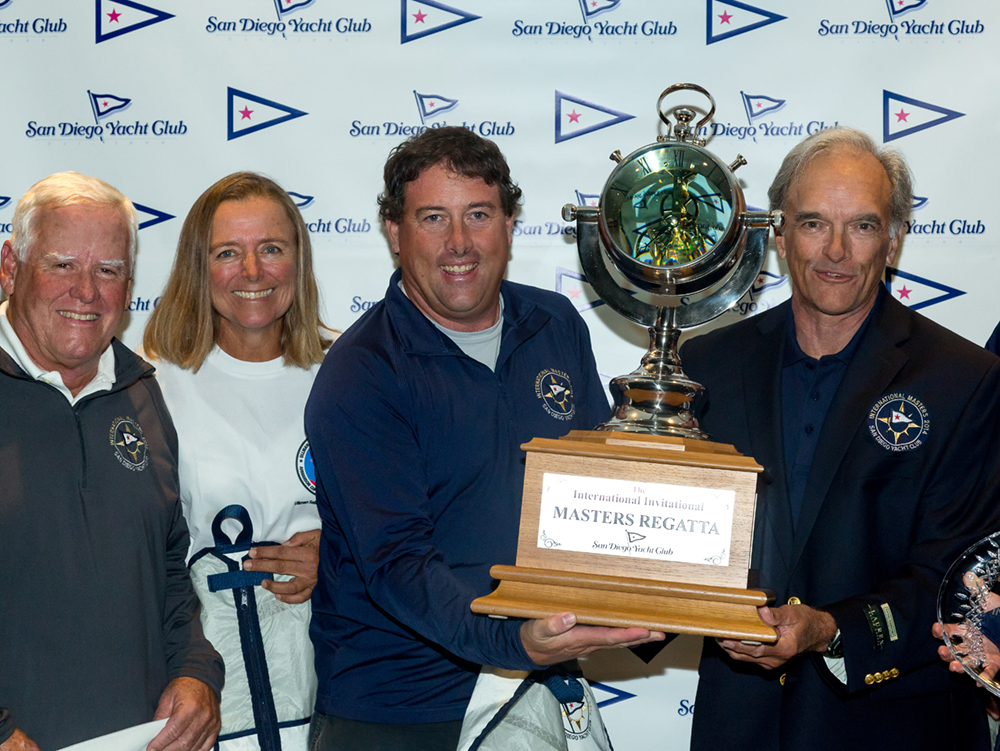 Augie Diaz takes trophy at International Masters Regatta