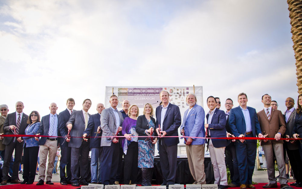 Port of SD celebrates North Embarcadero grand opening