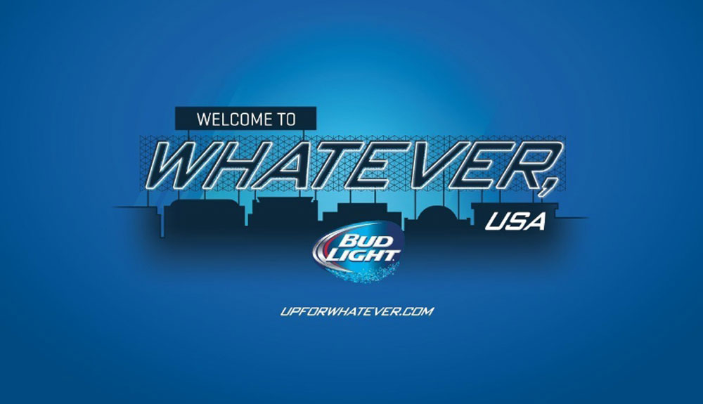 Bud Light names Catalina Island #UpForWhatever