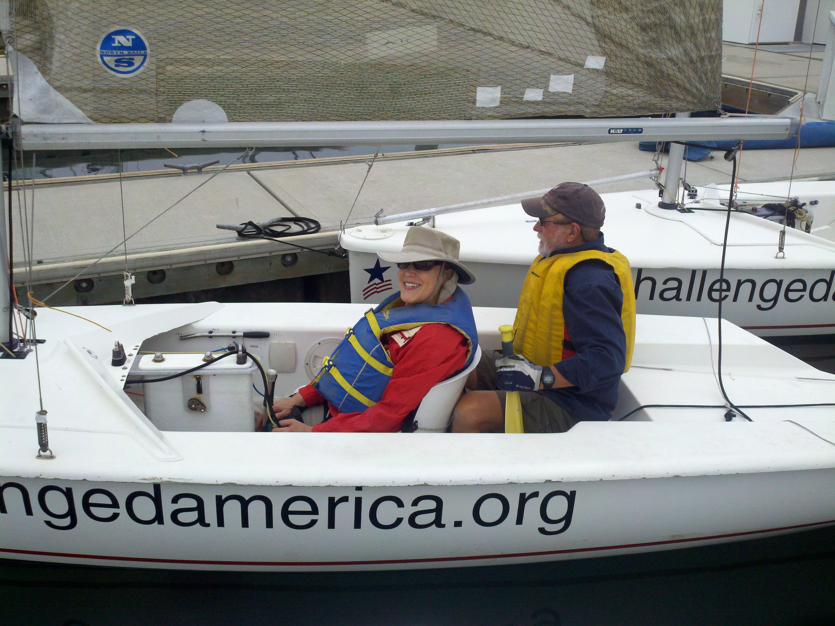 Disabled Sailor Discovers Love of Water Through Challenged America