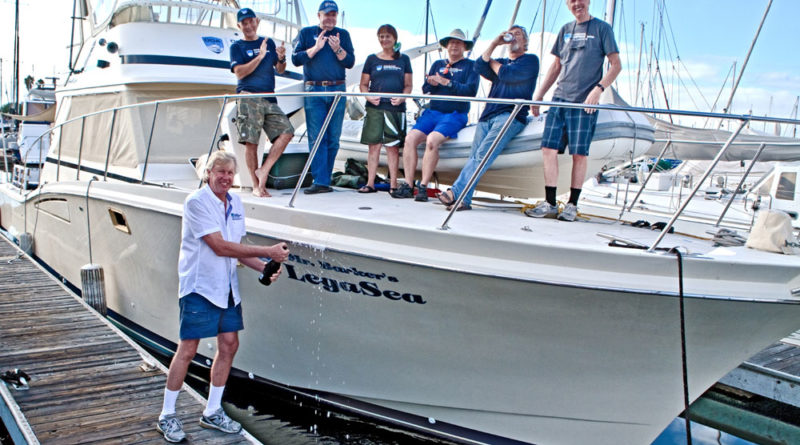 Mr. Barker's LegaSea launched this month