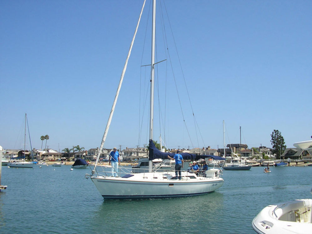 Oasis Sailing Club adds new boat to its fleet.