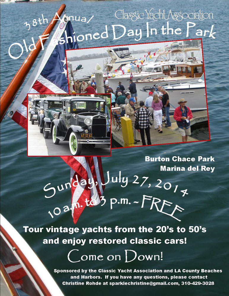 Classic Yachts Return to Marina del Rey's Old Fashioned Day