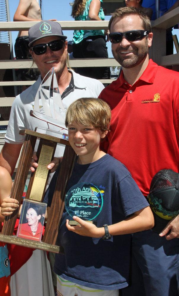 TJ O'Rourke dominates 27th annual Jessica Uniack Memorial Beach to Bay Race