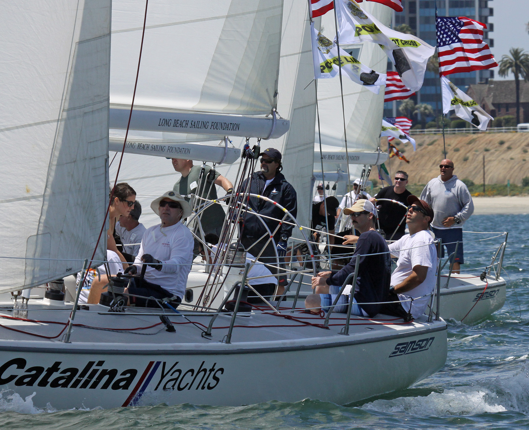 Long Beach Police win 2015 Heroes Regatta