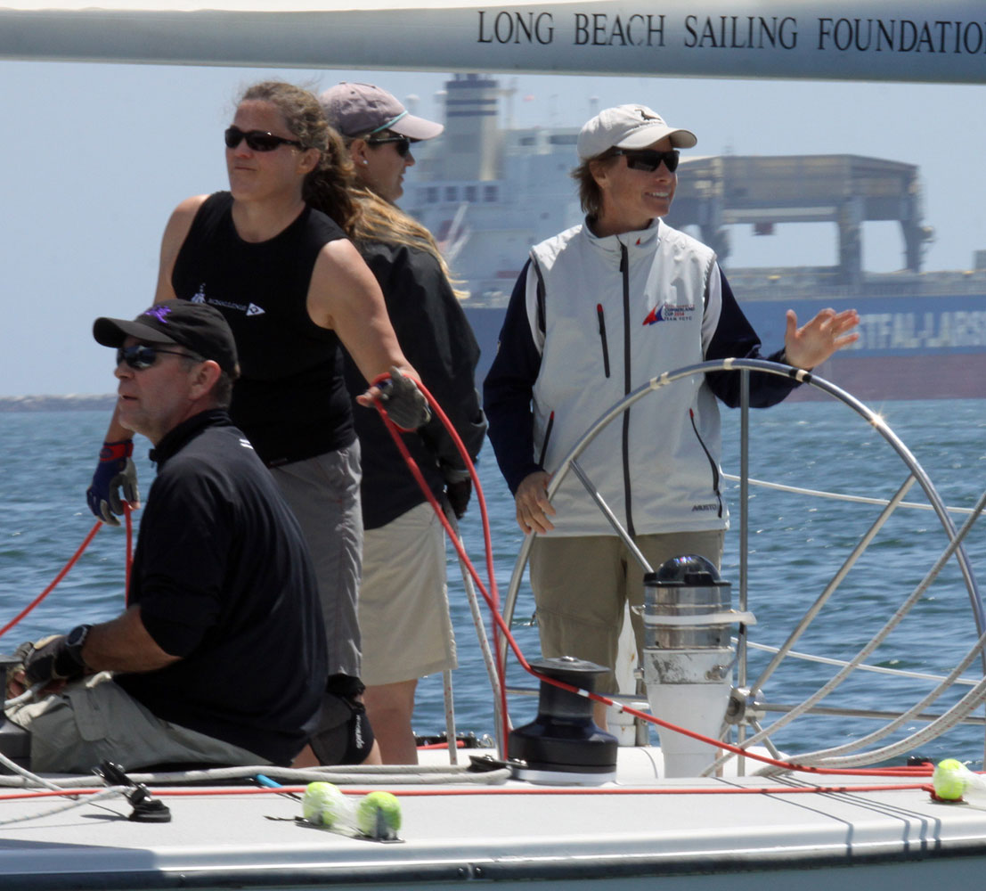Breault celebrates birthday with ISAF Grade 3 match race win