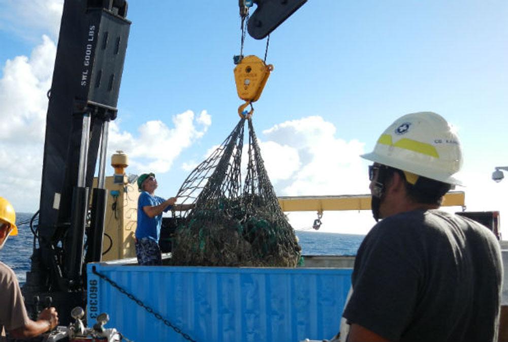 NOAA removes 57 tons of marine debris from Hawaiian Islands