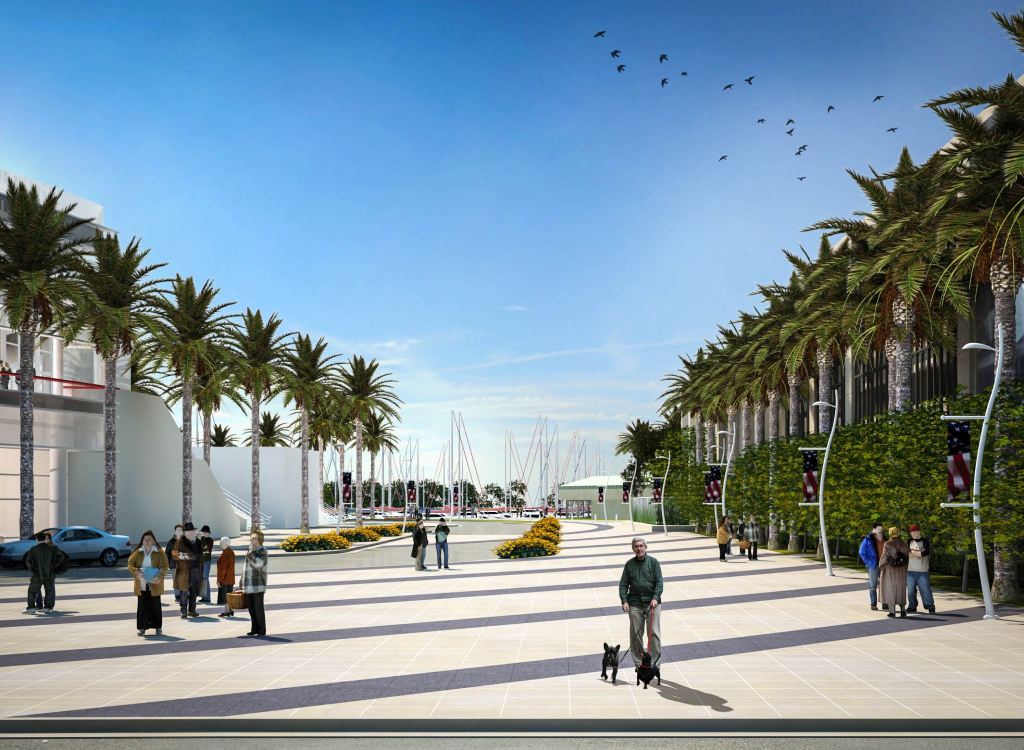 San Diego Hotel Project Links Downtown to the Bay