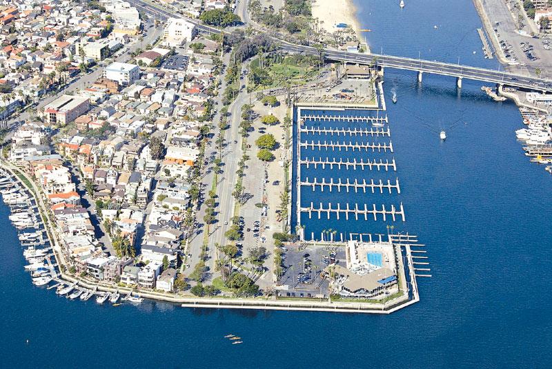 Docks Done in Alamitos Bay Marina Phase 1