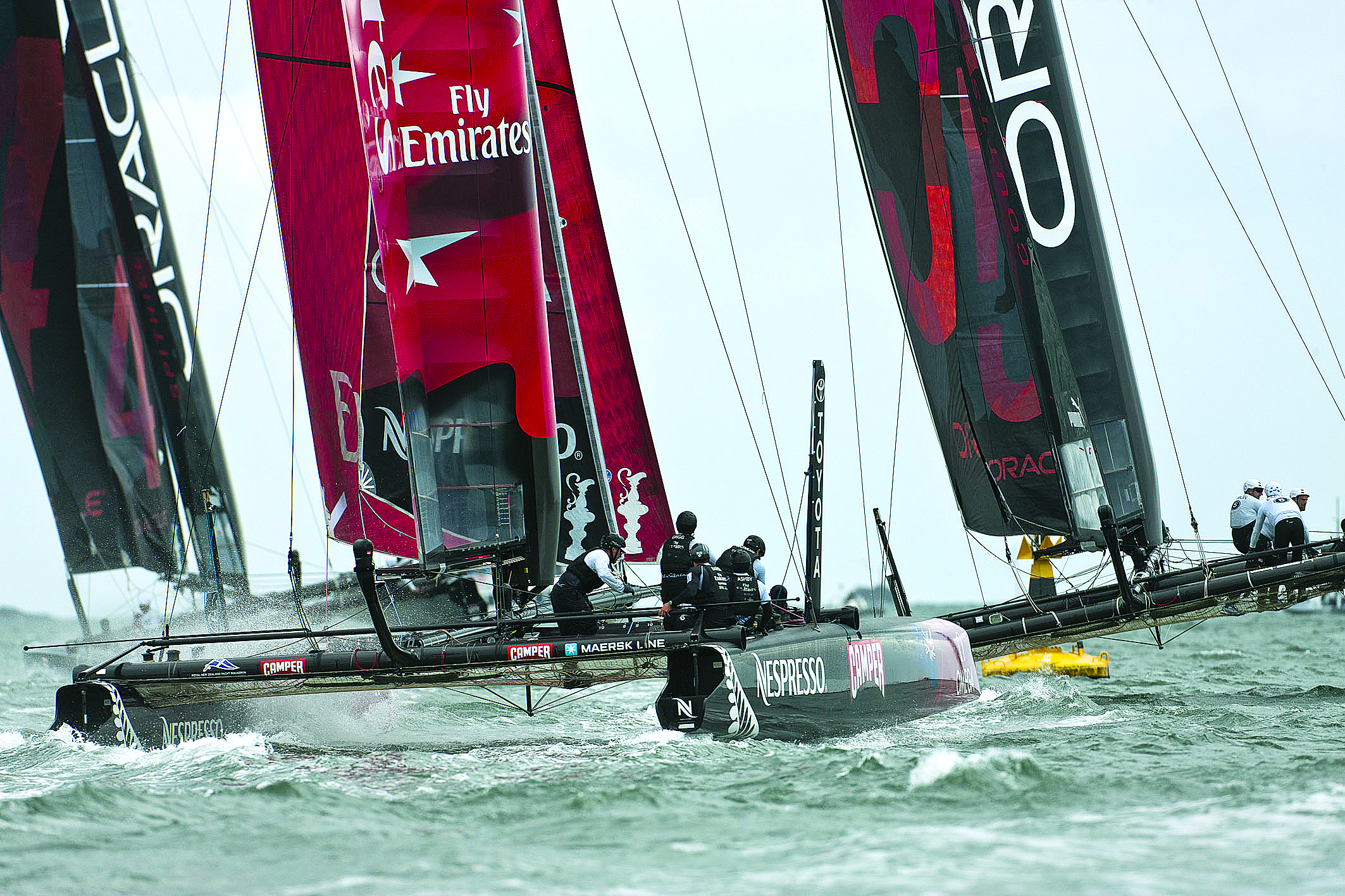 Italy's Luna Rossa Challenges for America's Cup