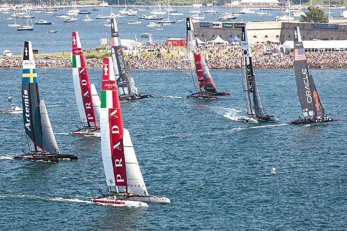 America's Cup World Series Race Drew Fewer Fans Than Hoped For