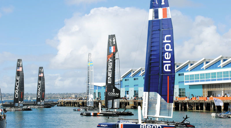 Oracle Takes America's Cup World Series Win in SD