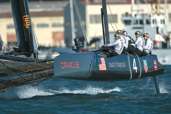 Oracle Forfeits America's Cup World Series Titles
