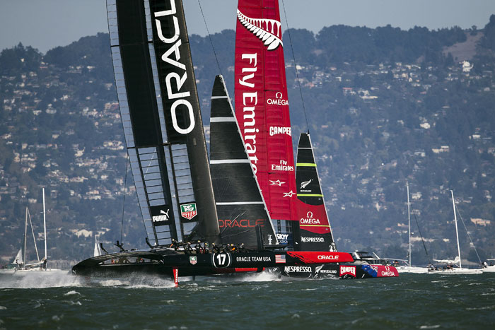 Kiwis Need 2 Race Wins to Take America's Cup