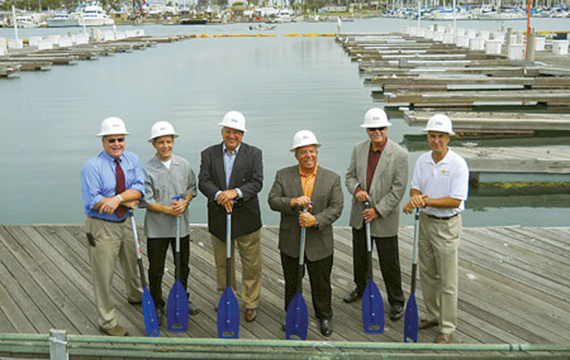 Alamitos Bay Marina Rebuild Gets Under Way