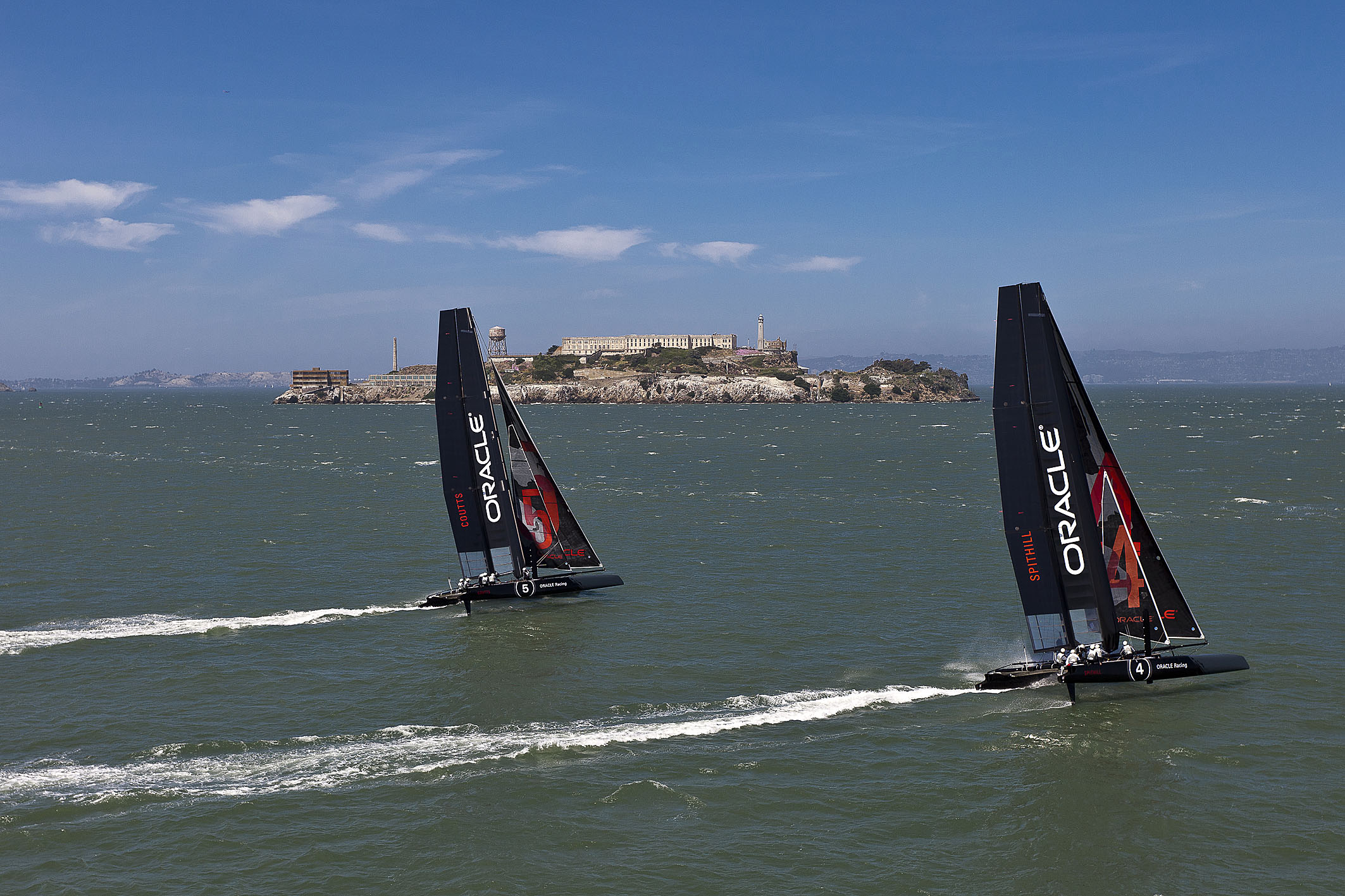 America's Cup Battle Brewing Over Alcatraz
