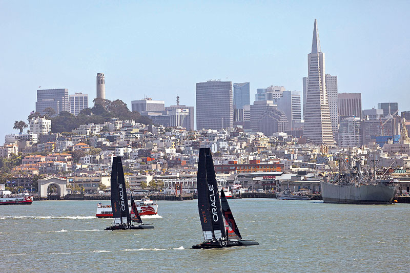 SF Supervisors Approve America's Cup EIR