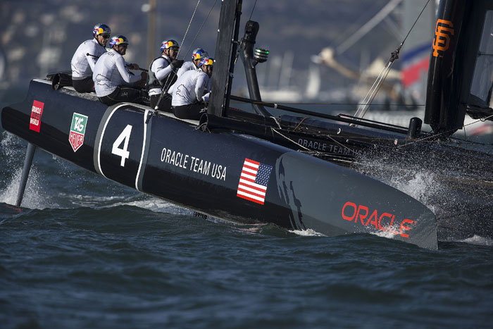 Oracle Team USA Wins America's Cup World Series SF Event