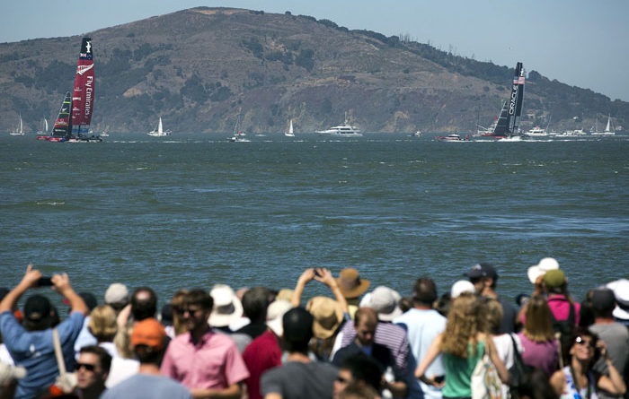 Kiwis Dominate in America's Cup Races 6 and 7