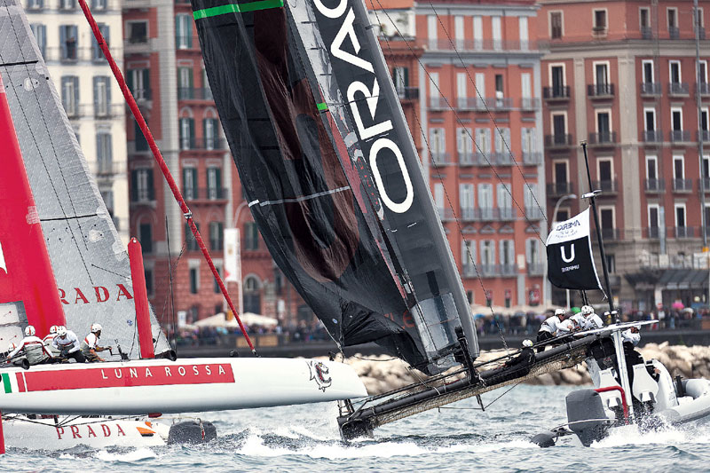 Italy's Luna Rossa Piranha Wins Naples Leg of America's Cup World Series