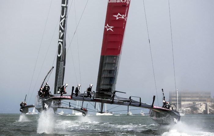 America's Cup Racing Underway in San Francisco