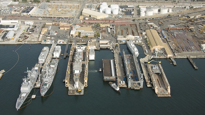 San Diego Naval Ship Repair Yard Breaks Ground on New Pier