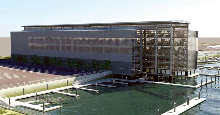 Commission OKs Big Boat Storage Center for MdR