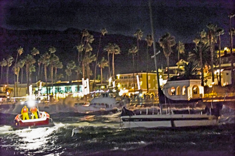 Boater shares first-hand experience of Avalon storm