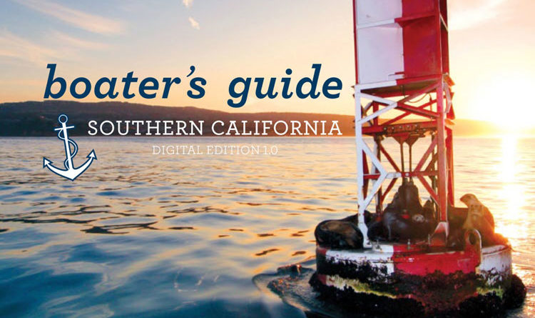 SoCal Boater's Guide avalible as an iPad app, interactive eBook