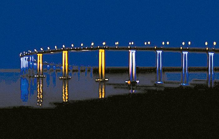 Commissioners OK Coronado Bridge Lighting Plan