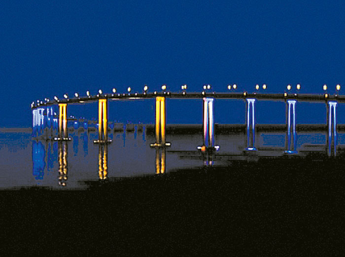 Commissioners OK Coronado Bridge Lighting Plan