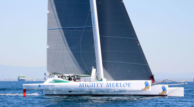 Mighty Merloe breaks Islands Race course record