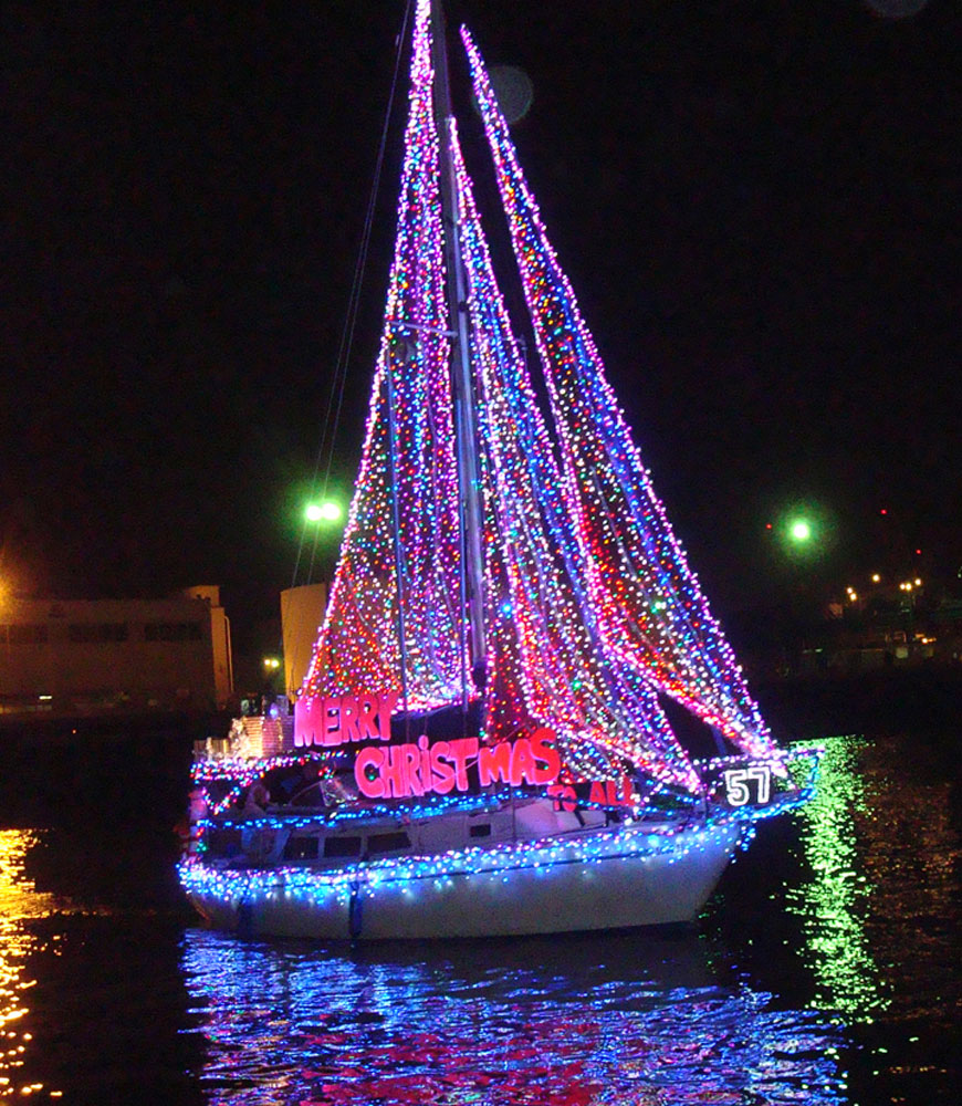 Join in the holiday fun -- on the water