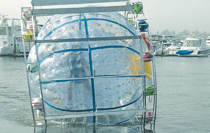 Run to Catalina in a Plastic Bubble Needs Funding