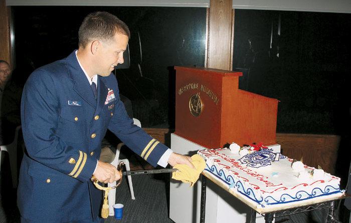 Maritime Museum Celebrates Coast Guard's 222nd Birthday