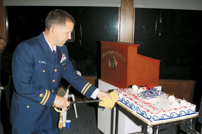 Maritime Museum Celebrates Coast Guard's 222nd Birthday