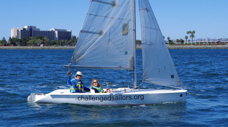 Challenged Sailors to race in Dash to Chula Vista