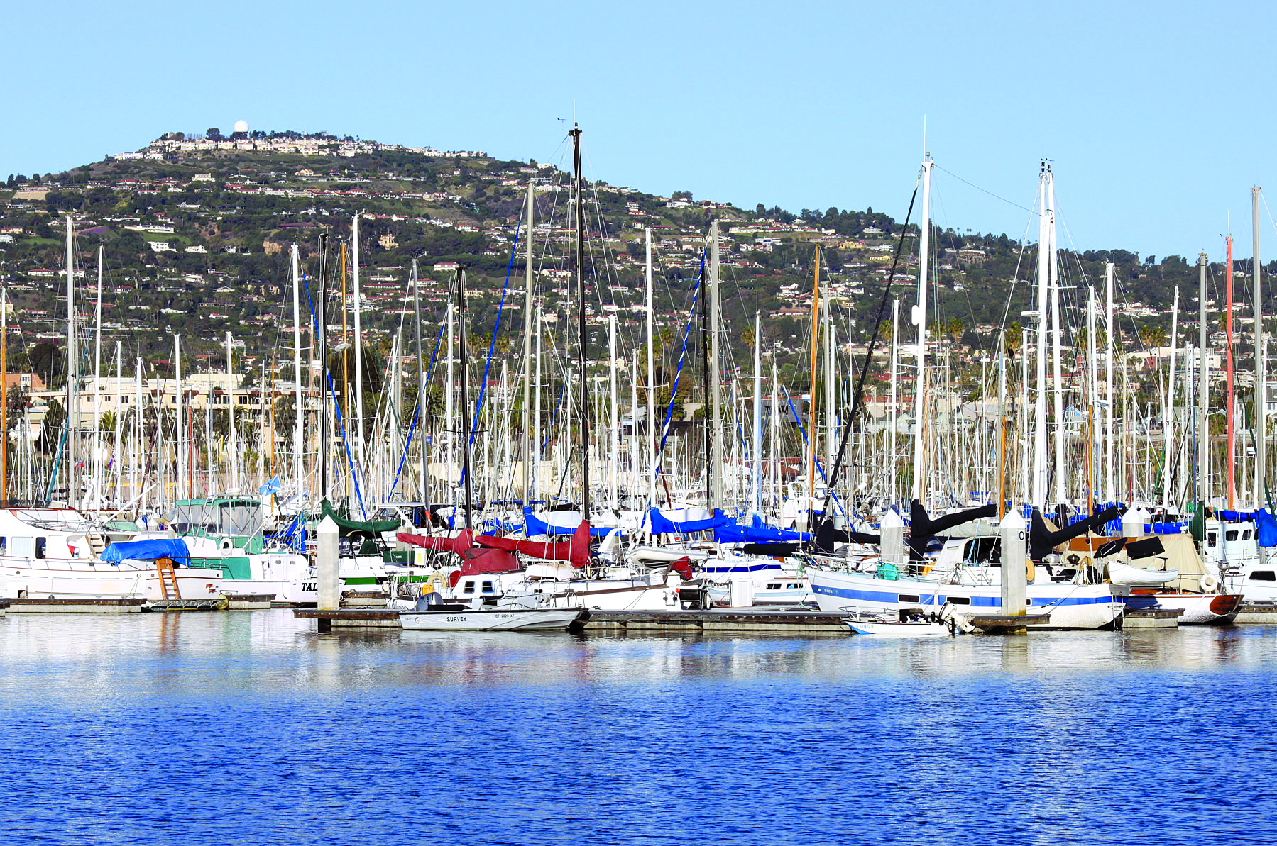 New Docks Completed at Cabrillo Way Marina