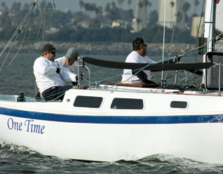 One Time Takes Cal 25 Fleet V Championship