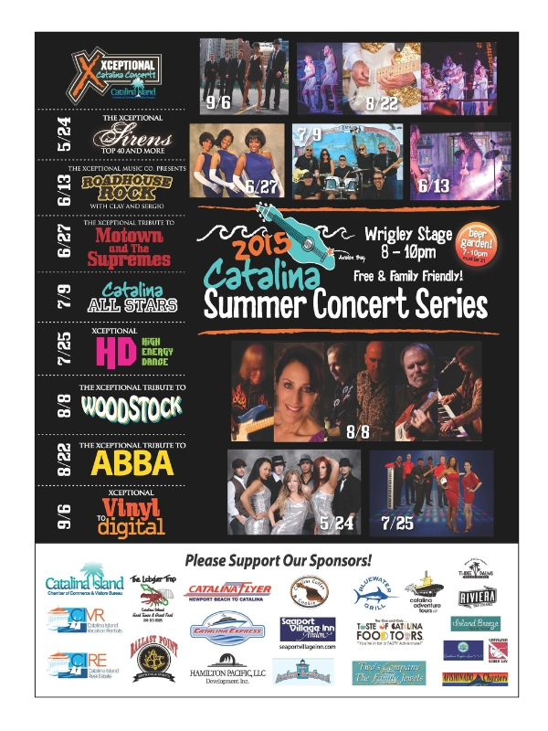 Summer music series rocks Avalon