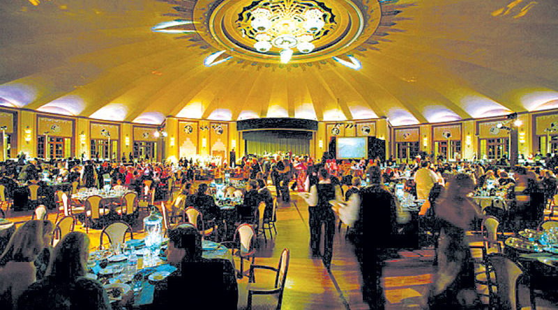 Catalina Conservancy Ball Weathers Storm