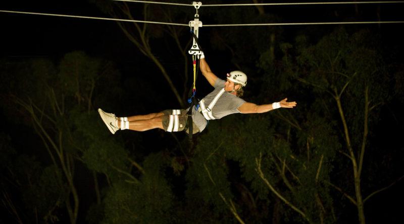 Night Zip Line Eco Tour Opens at Catalina Island