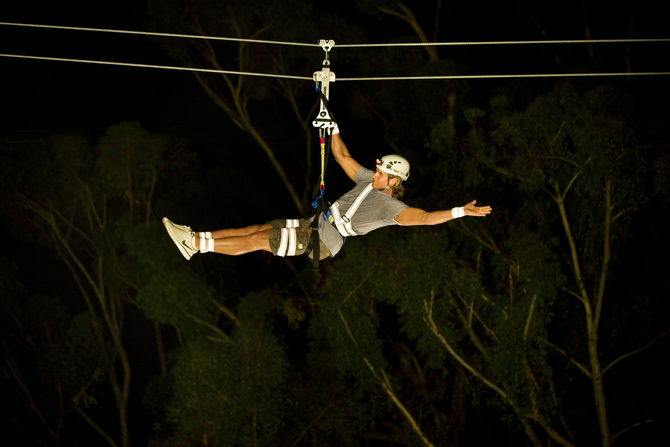 Night Zip Line Eco Tour Opens at Catalina Island
