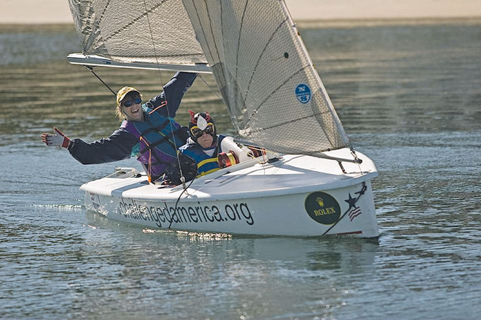 National Disabled Sailing Championship Winners Include Local