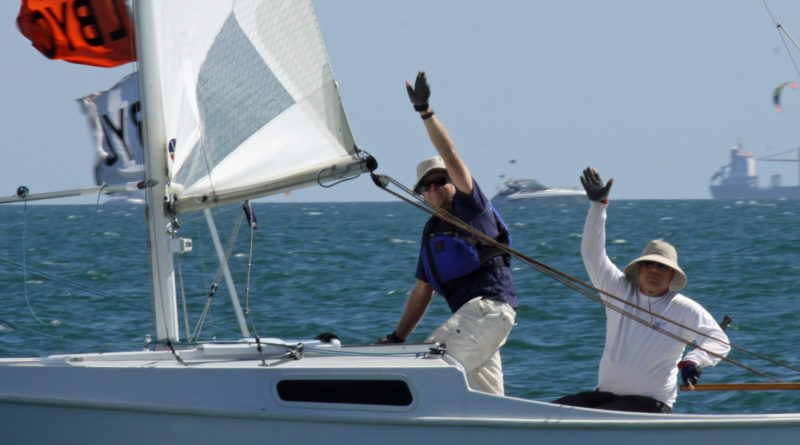 Local sailors turn out in support of LB Children's Clinic