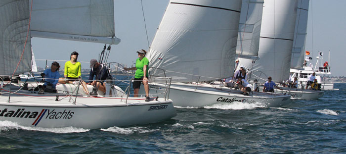 Women Sail to Victory in Long Beach Charity Regatta