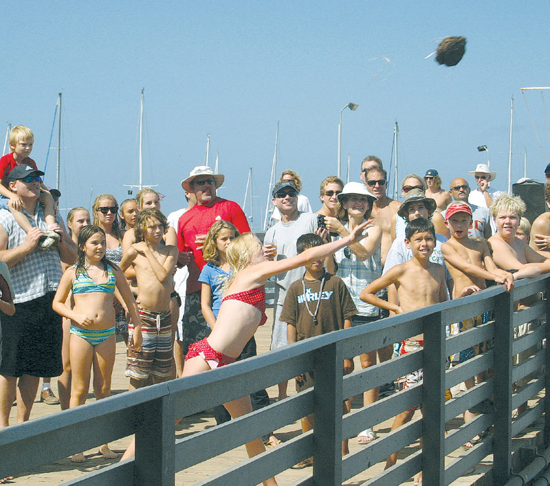 Two Harbors Hosts Annual Buffalo Chip Toss